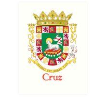 Cruz Shield of Puerto Rico Art Print