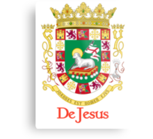 DeJesus Shield of Puerto Rico Metal Print