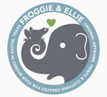 Froggie and Ellie Logo by froggieandellie