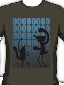Regular Show / Mordecai & Rigby Tee / Dark Variant T-Shirt