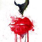 Crimson - Watercolor 2 by Kyousuke Imadori