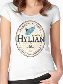 Hylian Hero's Stout Women's Fitted Scoop T-Shirt