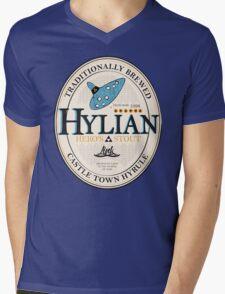Hylian Hero's Stout Mens V-Neck T-Shirt