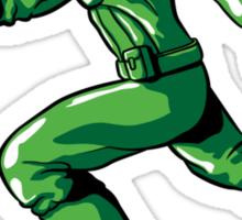 CAPTAIN: THE PLASTIC SOLDIER Sticker