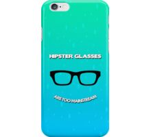Hipster Glasses iPhone Case/Skin