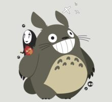 Totoro and Friends by vpuvd
