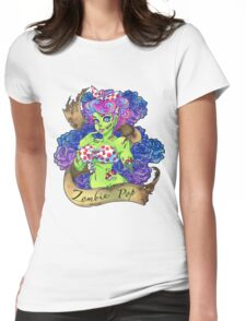 Zombie Pop! Womens Fitted T-Shirt