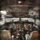 Pilot - Boeing 707  - Cockpit - We need a pilot or two by Mike  Savad