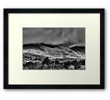 Light Across the Hills Framed Print