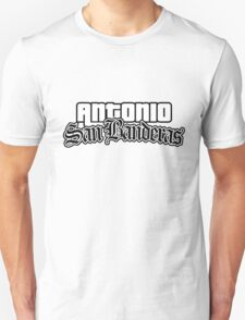 Antonio Banderas (San Andreas Style) T-Shirt