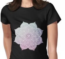 Yoga Symbol Womens Fitted T-Shirt