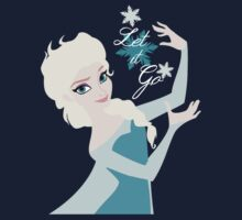 Elsa Let it go snowflakes by sweetsisters