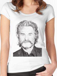 Kurt Women's Fitted Scoop T-Shirt