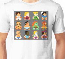 8 Bit Street Fighter Unisex T-Shirt
