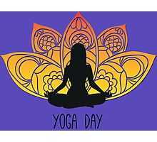 Yoga Day Photographic Print