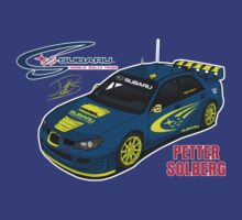 Subaru Rally Team: Petter Solberg by Mookiechan
