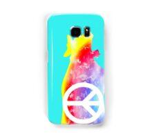 GROOVY MOO Phone Case rainbow peace cow Samsung Galaxy Case/Skin