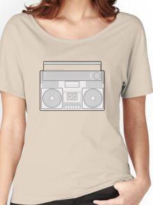 Speaker Vector Art Women's Relaxed Fit T-Shirt