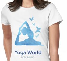 Yoga World Womens Fitted T-Shirt