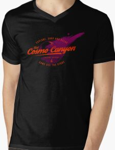 Cosmo Canyon Mens V-Neck T-Shirt