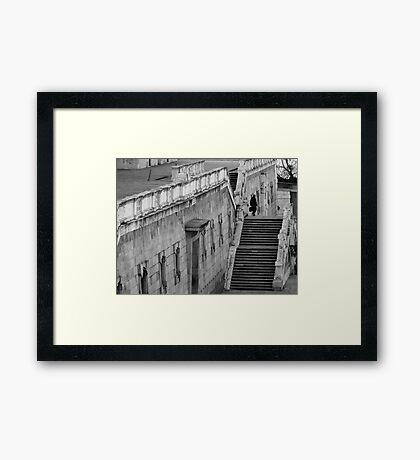 A taste of Madrid Framed Print