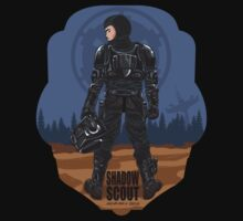 SHADOW SCOUT-STAR WARS by Alienbiker23