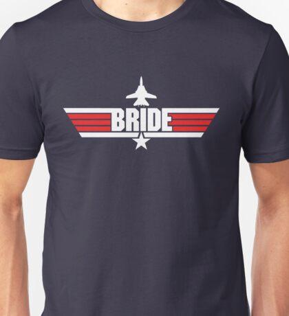 Custom Top Gun Style Style - Bride Unisex T-Shirt