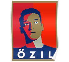 Mesut Ozil (Arsenal Palette) Poster