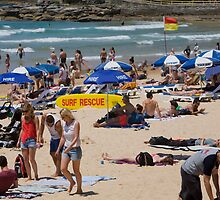 Manly Beach Sydney  by martinberry