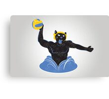 Manther Water Polo Canvas Print