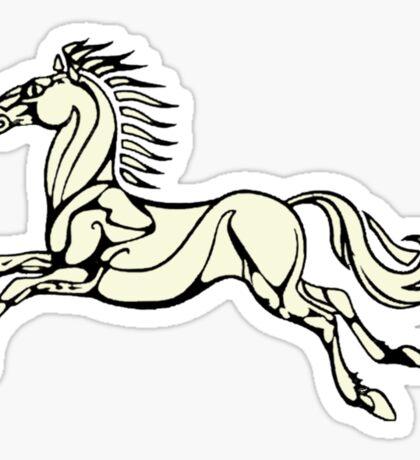 Horse of Rohan Sticker