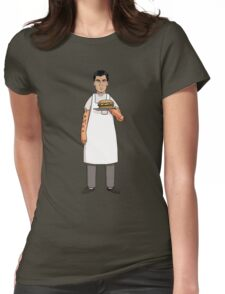 Archer's Burgers Womens Fitted T-Shirt