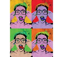 Miley Warhol Photographic Print