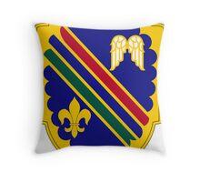 160th Infantry Regiment Throw Pillow