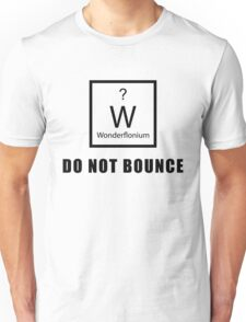 Wonderflonium: Do Not Bounce! - Doctor Horrible Inspired Shirt! Unisex T-Shirt
