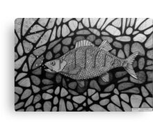 251 - PERCH - DAVE EDWARDS - INK - 2014 Canvas Print