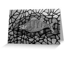 251 - PERCH - DAVE EDWARDS - INK - 2014 Greeting Card