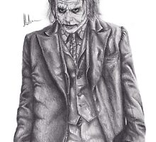 The Dark Knight Rises - Heath Ledger as The Joker by JHallam
