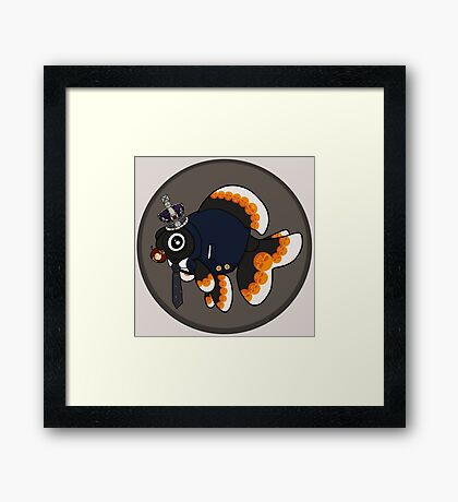 Goldfish Moriarty Framed Print