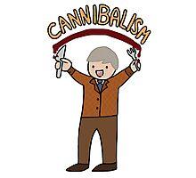 Cannibalism! Photographic Print