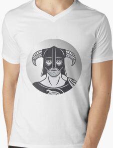 Dragonborn Mens V-Neck T-Shirt