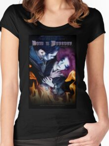 Now N Forever ~ Bobbi Style & Dave Ogilvie, by Topher Adams Women's Fitted Scoop T-Shirt