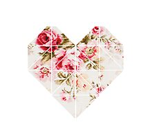 My hearts full of flowers  Photographic Print