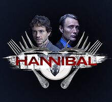 Hannibal and Will by 666hughes