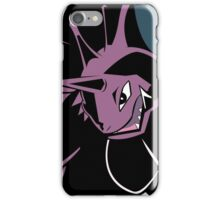 Nidoking in Shadows iPhone Case/Skin