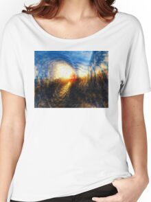 Sun On The Horizon Women's Relaxed Fit T-Shirt