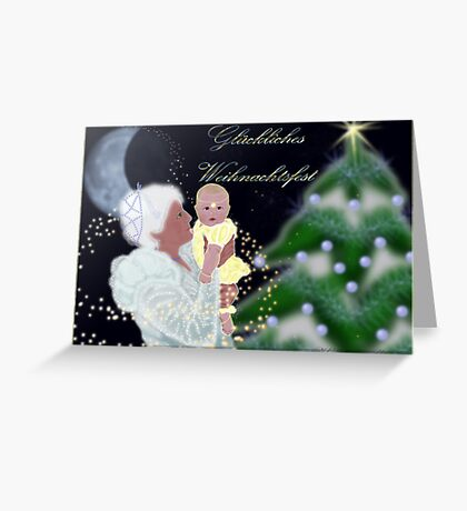 A Grandmothers Love Greeting Card