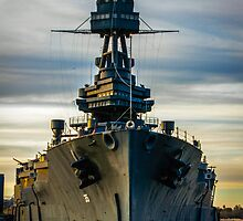 Warship at San Jacinto Monument by Natsumeshin