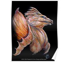 Pale dragon Poster