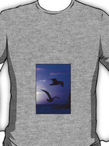 the double bird blues T-Shirt